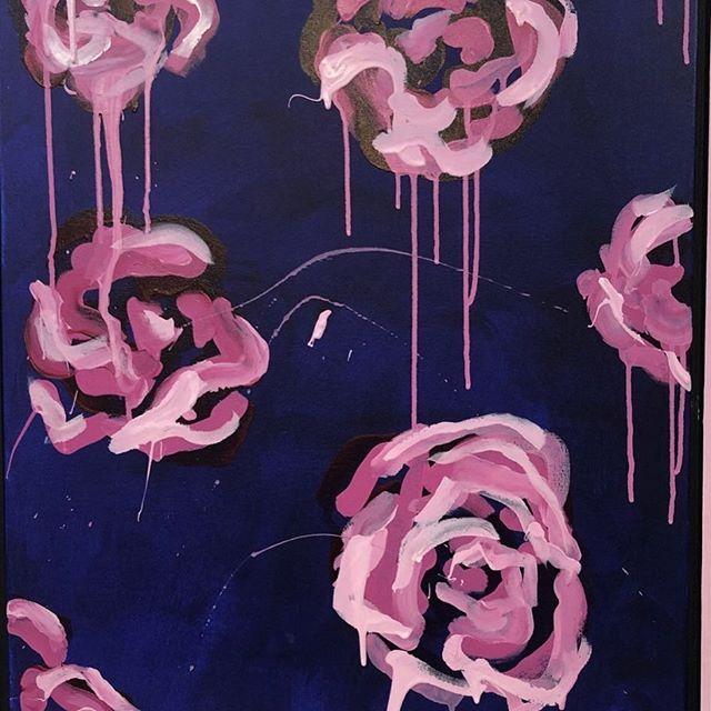 #sold boom boom #art #painting #popart #love #treatyoself #bloom #homedecor #interiordesign #megancoonellyart