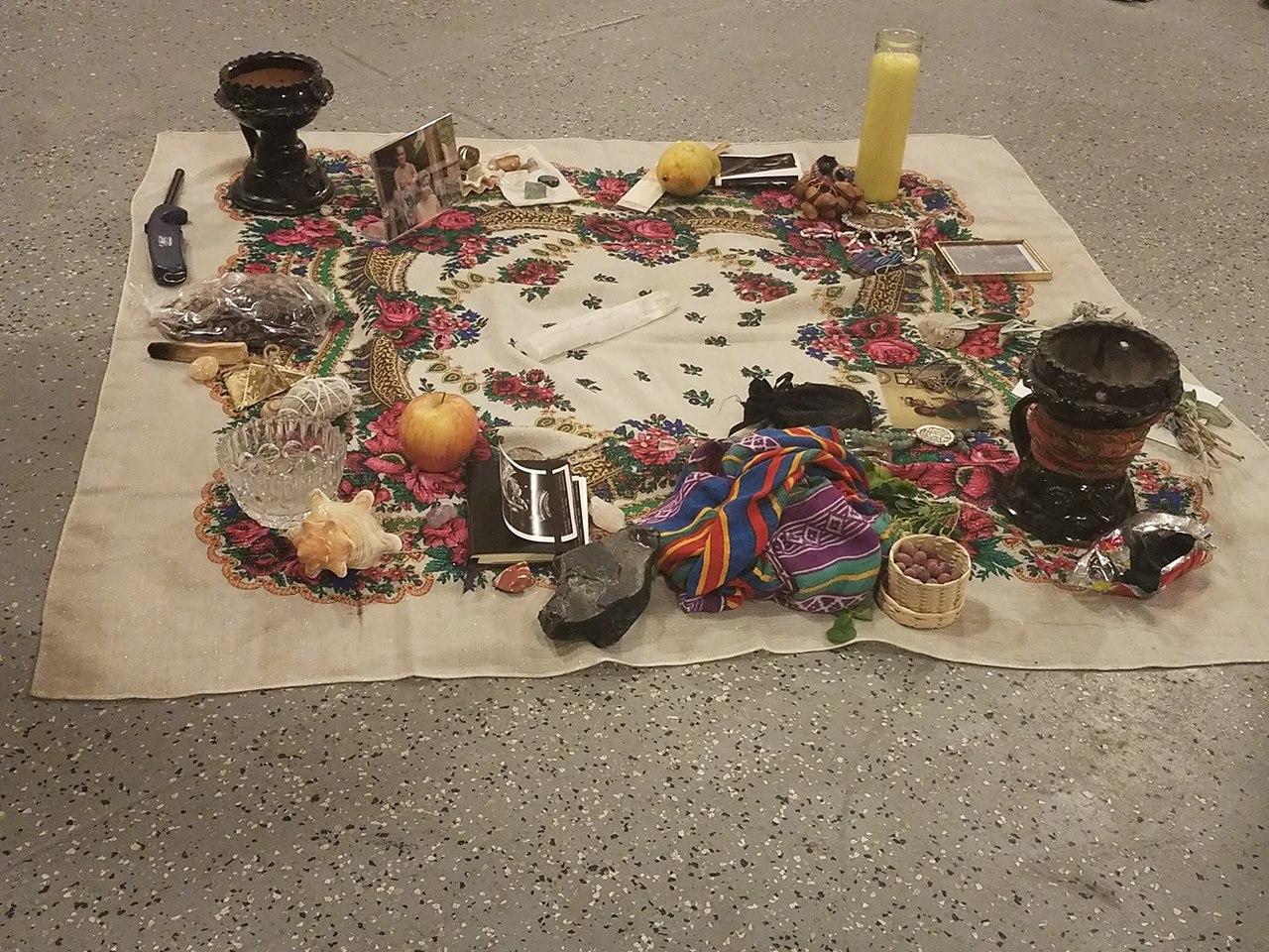 Altaring;Image courtesy of Mama Maiz