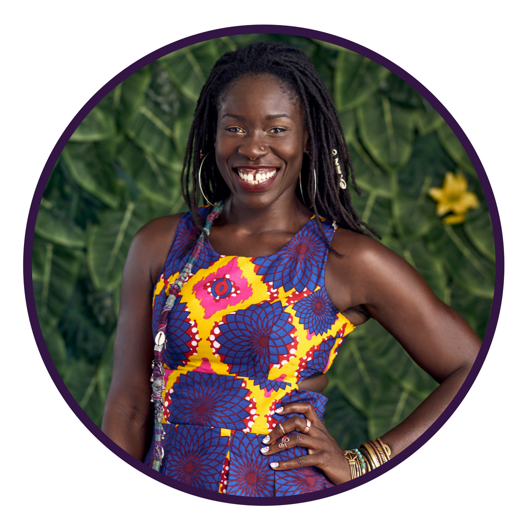 "DAY 12 - OCTOBER 17 ALUA ARTHUR   Death Doula, End of Life Planner  ""Decolonize your Death"""