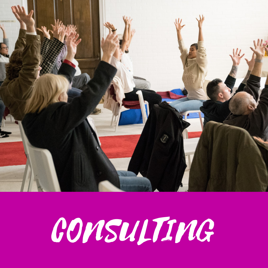 Wellness consultant for organizations seeking support for retreat/event planning and facilitating workshops on team building, diversity and inclusion, theater and storytelling, communication skills, stress reduction, mindfulness and yoga.  Click here for details!