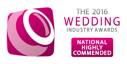 Wedding Industry Awards National Highly commended 2016