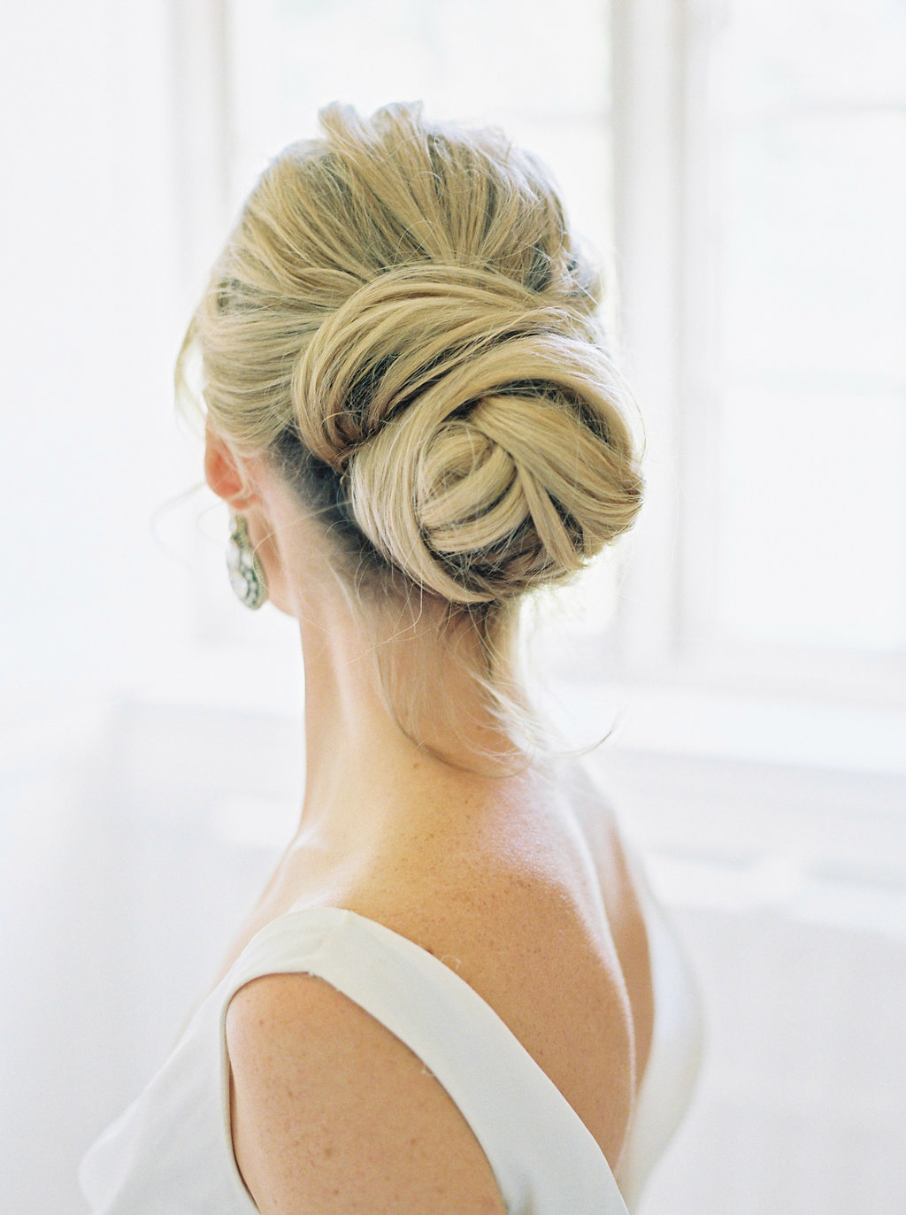 Ballet bun style up-do