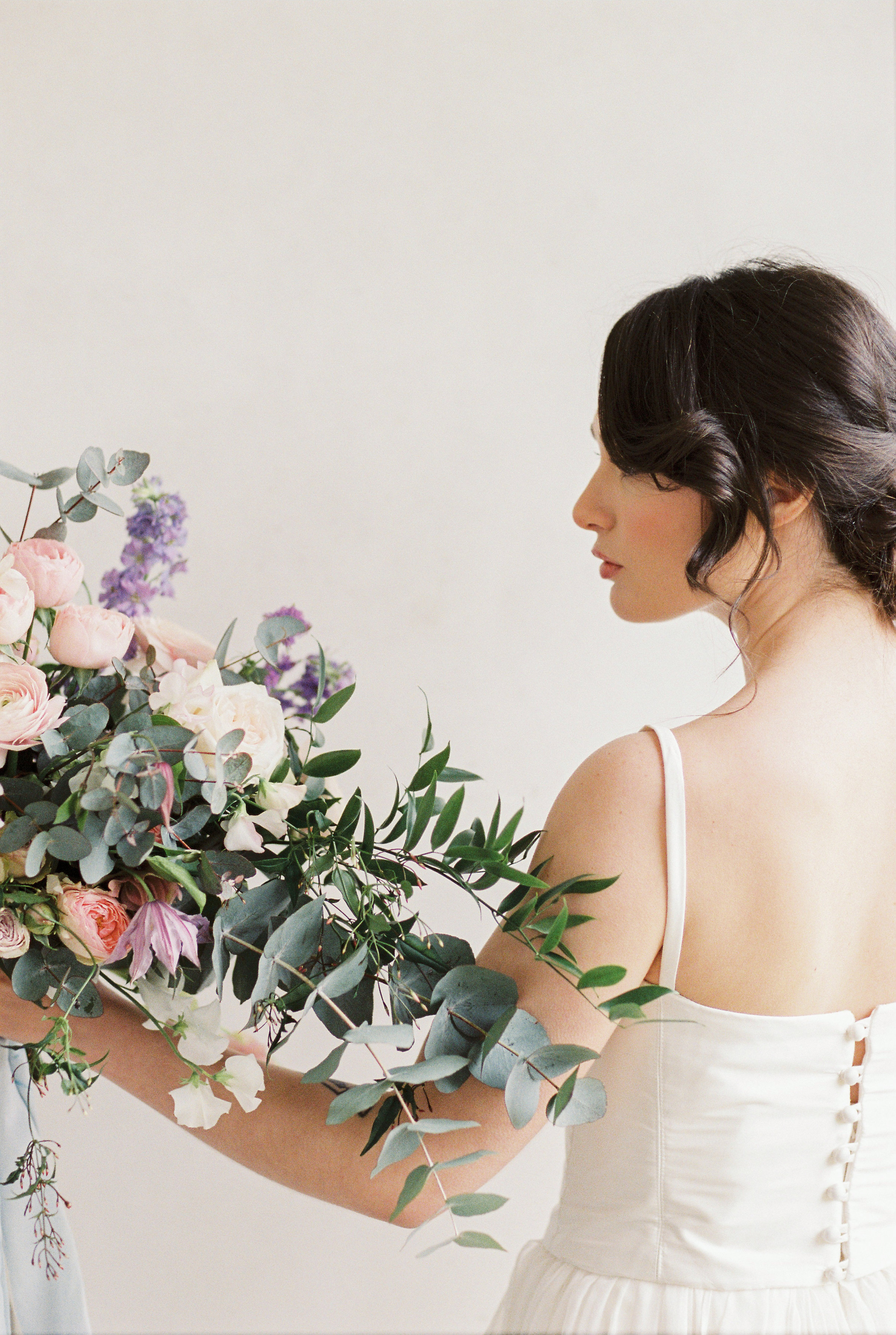 Bridal hair styling by Victoria Fergusson for fine art editorial by Bowtie and Belle (59).jpg