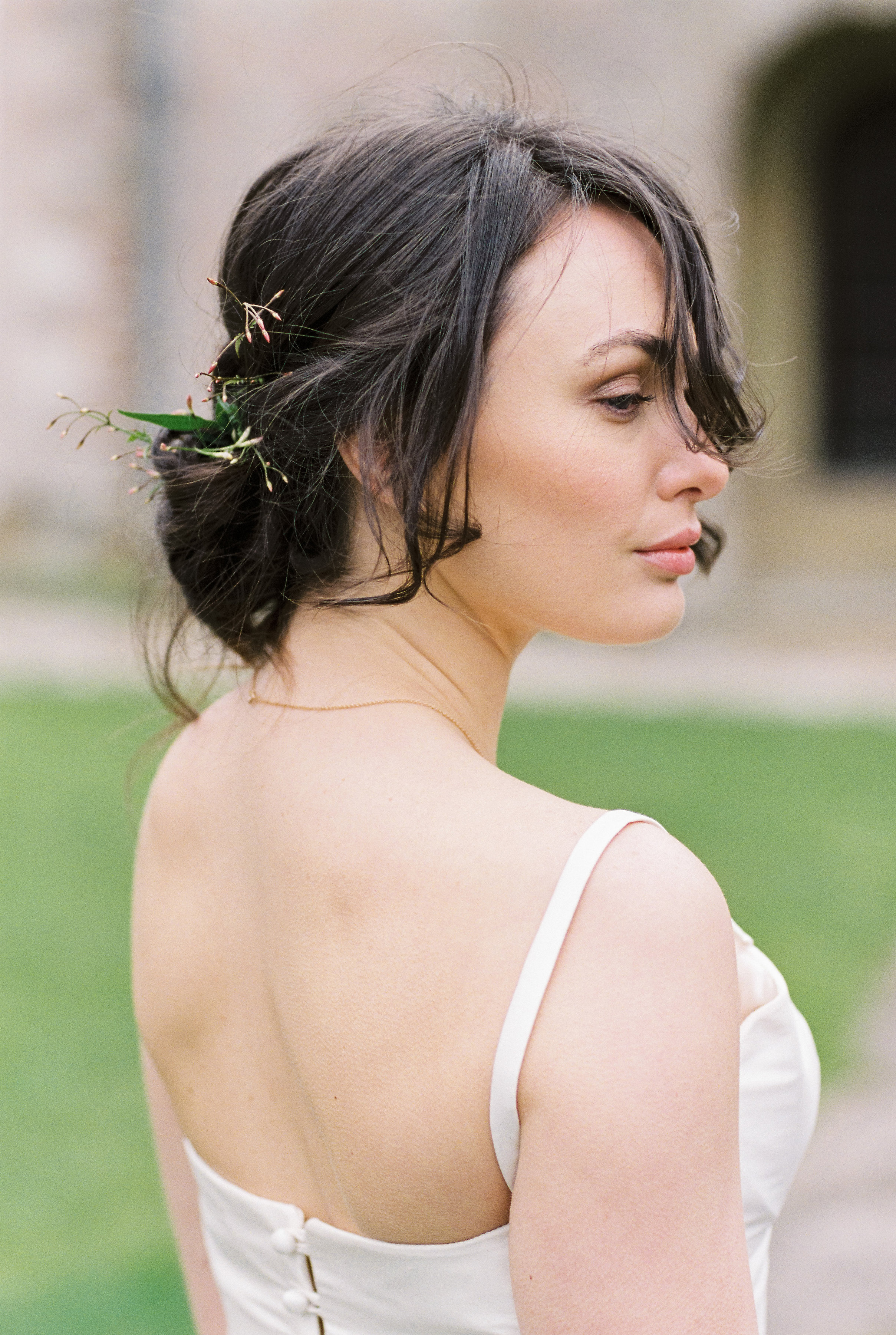 Bridal hair styling by Victoria Fergusson for fine art editorial by Bowtie and Belle (26).jpg