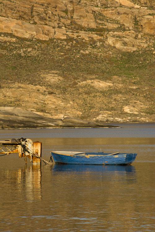 Water still as oil.