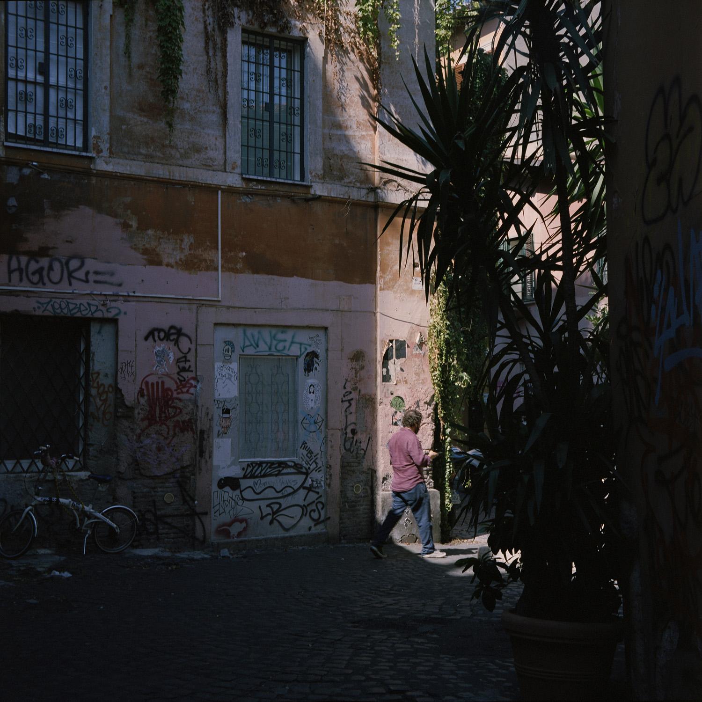 Stefanos Metaxas Trastevere street.jpg
