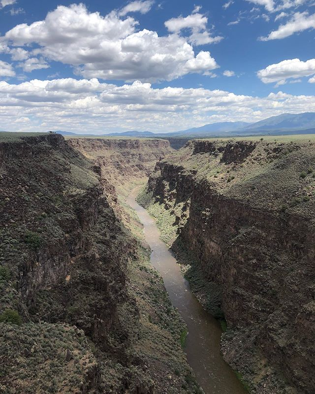 No still life this week as I'm in New Mexico for @mariaalexisssss and @aqauerbach beautiful wedding. Most of my shots are on film so I'll be posting more in 6-8 weeks, but in the meantime I cheated and caught this view on the iPhone.  #newmexico #riogrande #shotoniphone