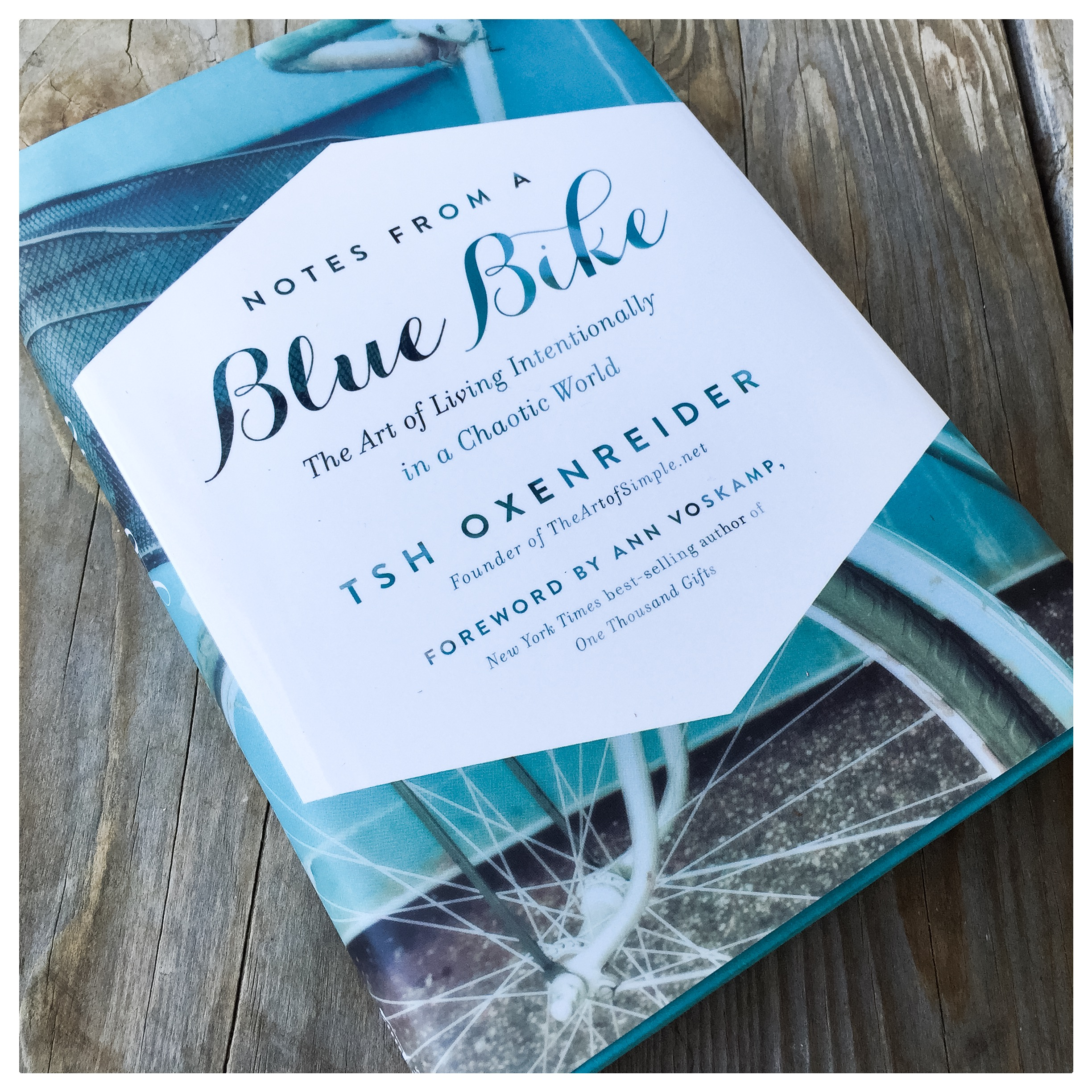 Notes from a Blue Bike has challenged us to slow down and consider what it means to live intentionally. This book is a must read for anyone who sometimes finds the world a bit too chaotic and crazy.