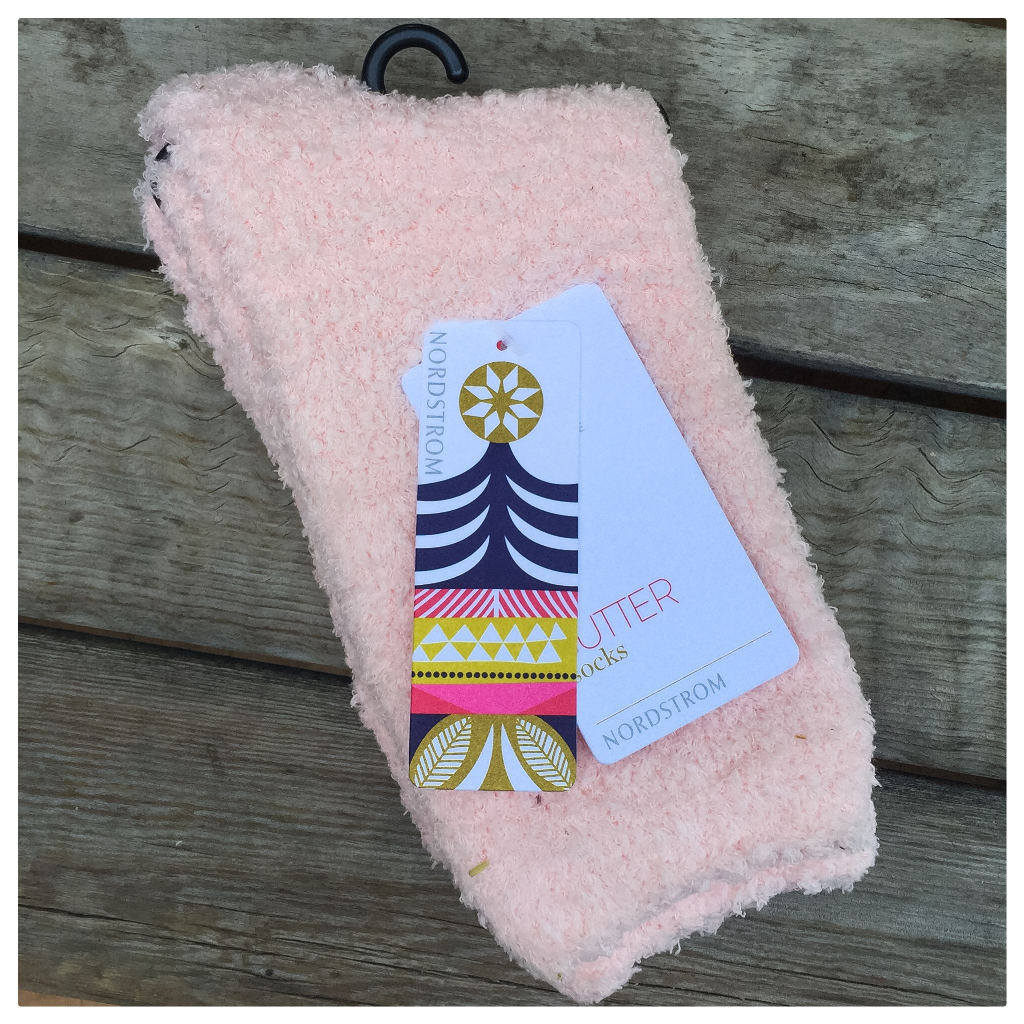 """Butter"" slipper socks from Nordstrom- nothing better to keep your feet warm and cozy!"