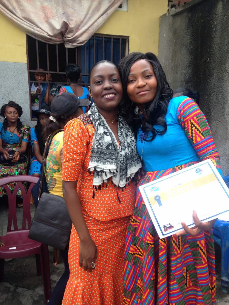 Meet One Thread Project's Social Worker, Isamel. She is pictured here on the left alongside one of the recent graduates, Sarah. She lives and cares for her mother and brother. She studied in Switzerland and worked in adoption while she was there. Isamel goes to the sewing center three times a week. Checks in with the women there, see if there are women waiting, and make certain that needs are met. If there are women waiting for sponsorship, she brings those names to Amy and they discuss how to move forward. Any time a new student is added she is in charge of meeting with them, checking on their attendance, and making sure that they are doing well in the program. She keeps in constant communication with One Thread stateside. She makes sure that all the school fees are paid for the children in our program and transportation needs are in place each month. Isamel helps to organize tasks and improve work. If a woman or their children fall ill, she follows up with them at home or the hospital. We are so very grateful for Isamel and know that logistically none of this work could be done without her! She is such a gift!