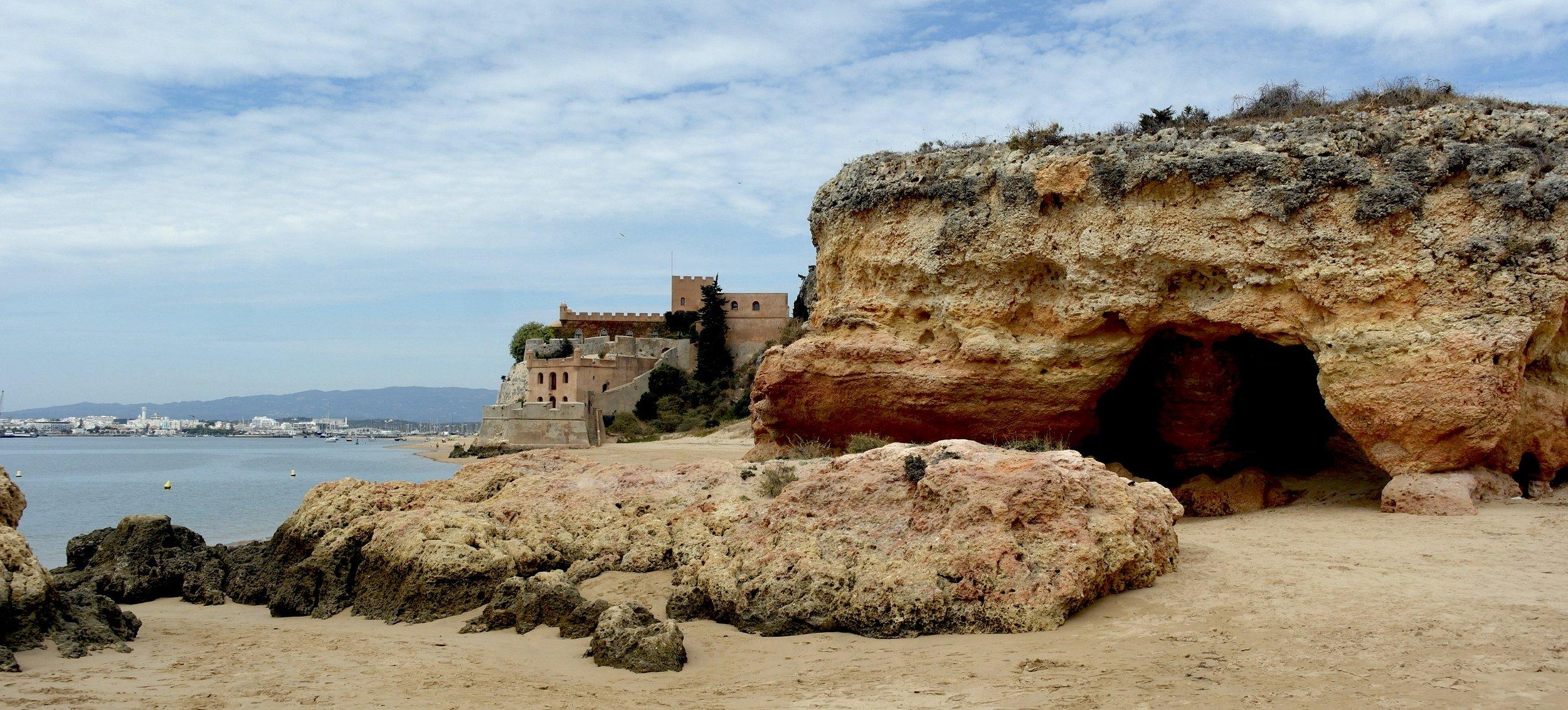 Praia Grande in the Southern Algarve