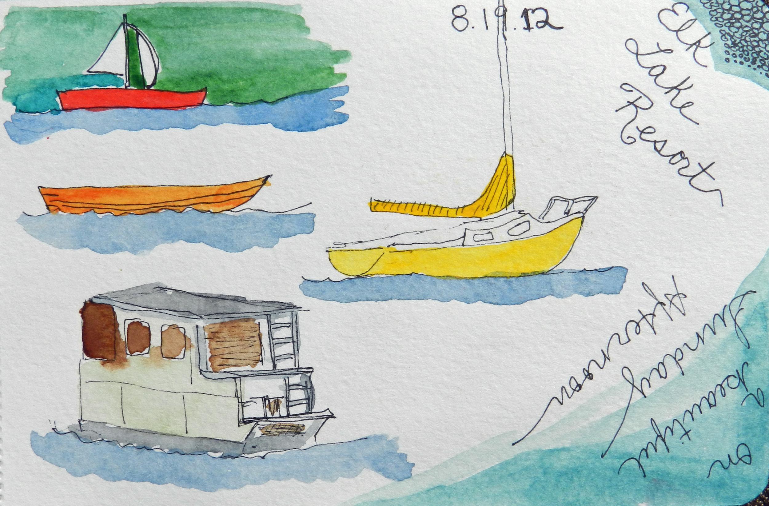 Older Journal Sketches (1)