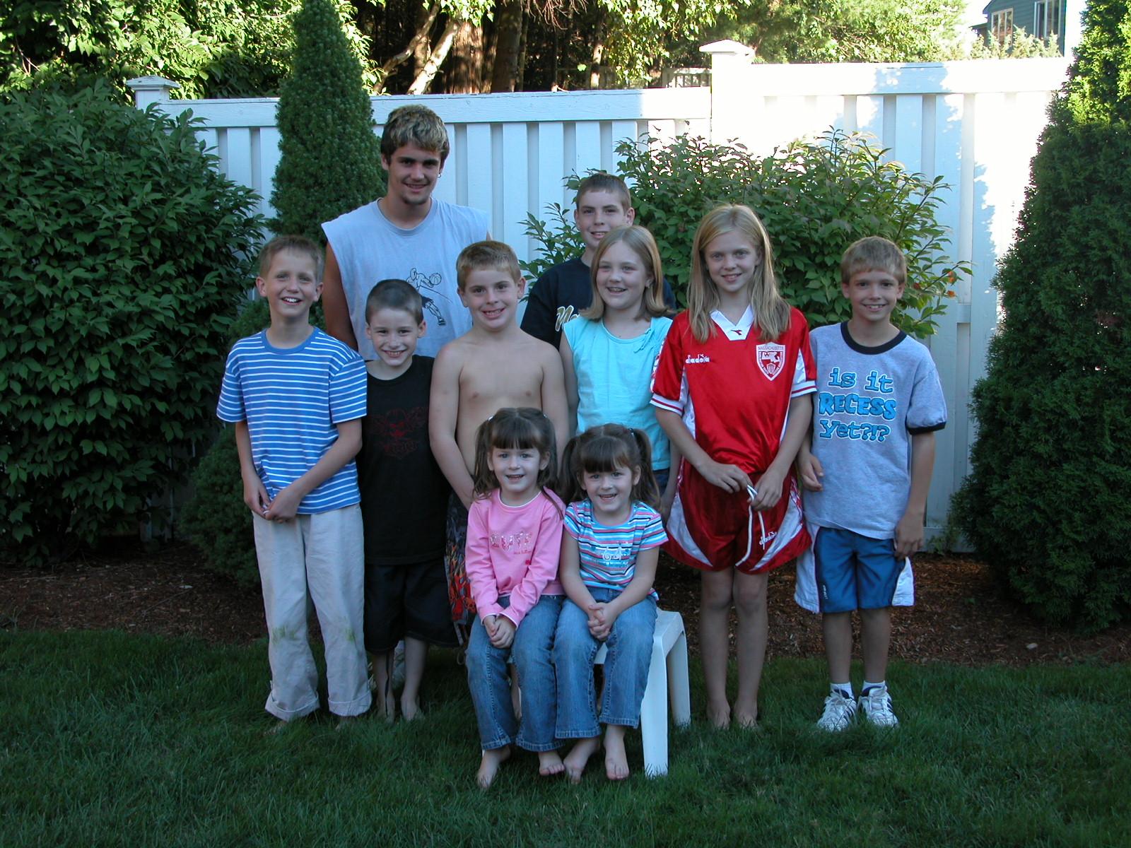 All 10 cousins