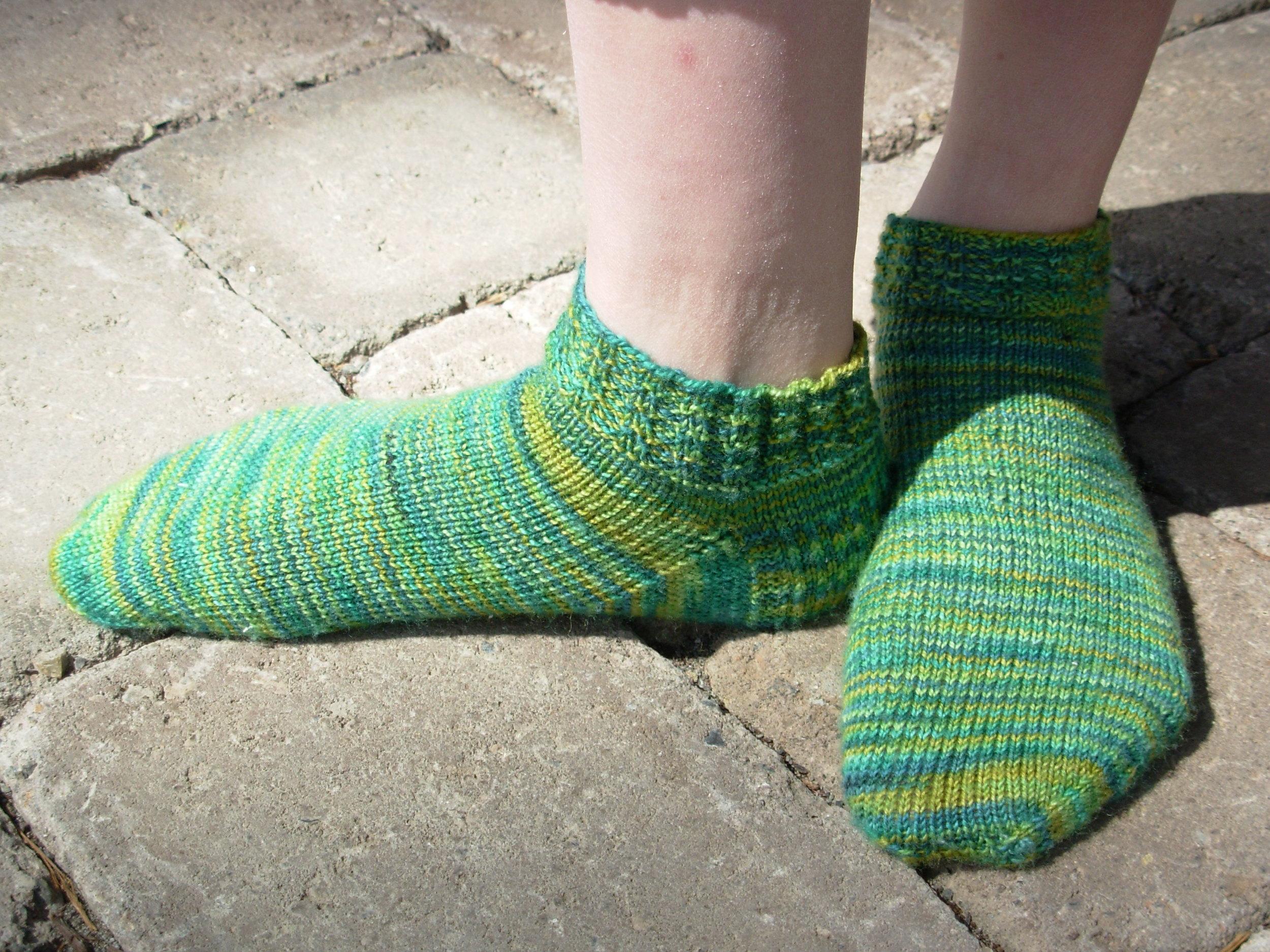 Shorty socks for Chloe.JPG