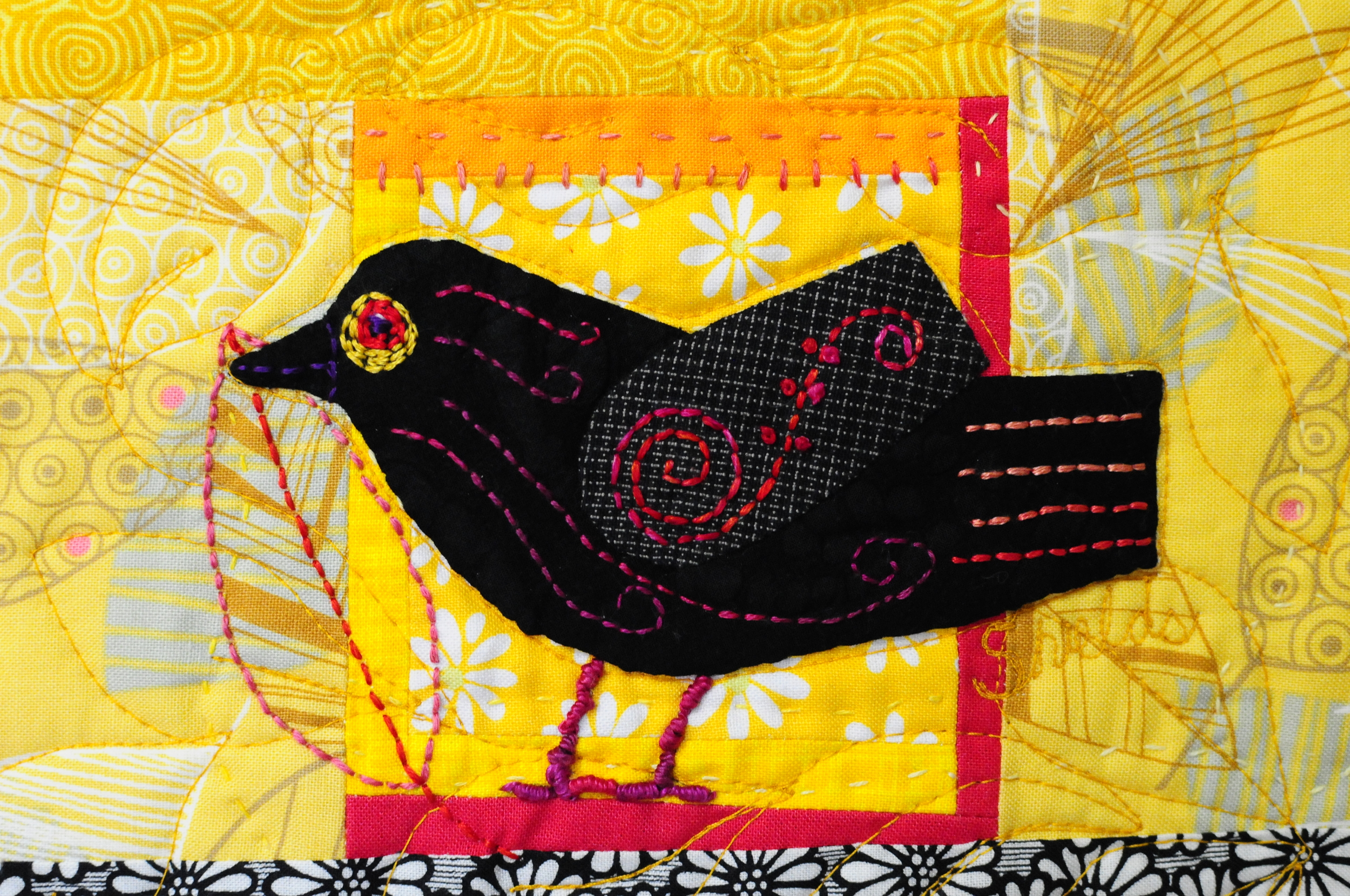 Fanciful Blackbird by mefor the Spotlight Auction
