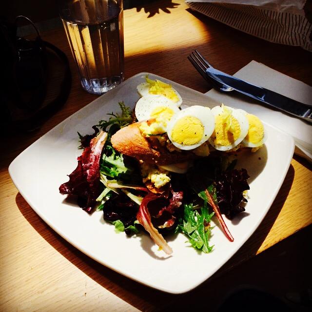 Lovejoy Bakers Egg Salad Tartine- more YUM!
