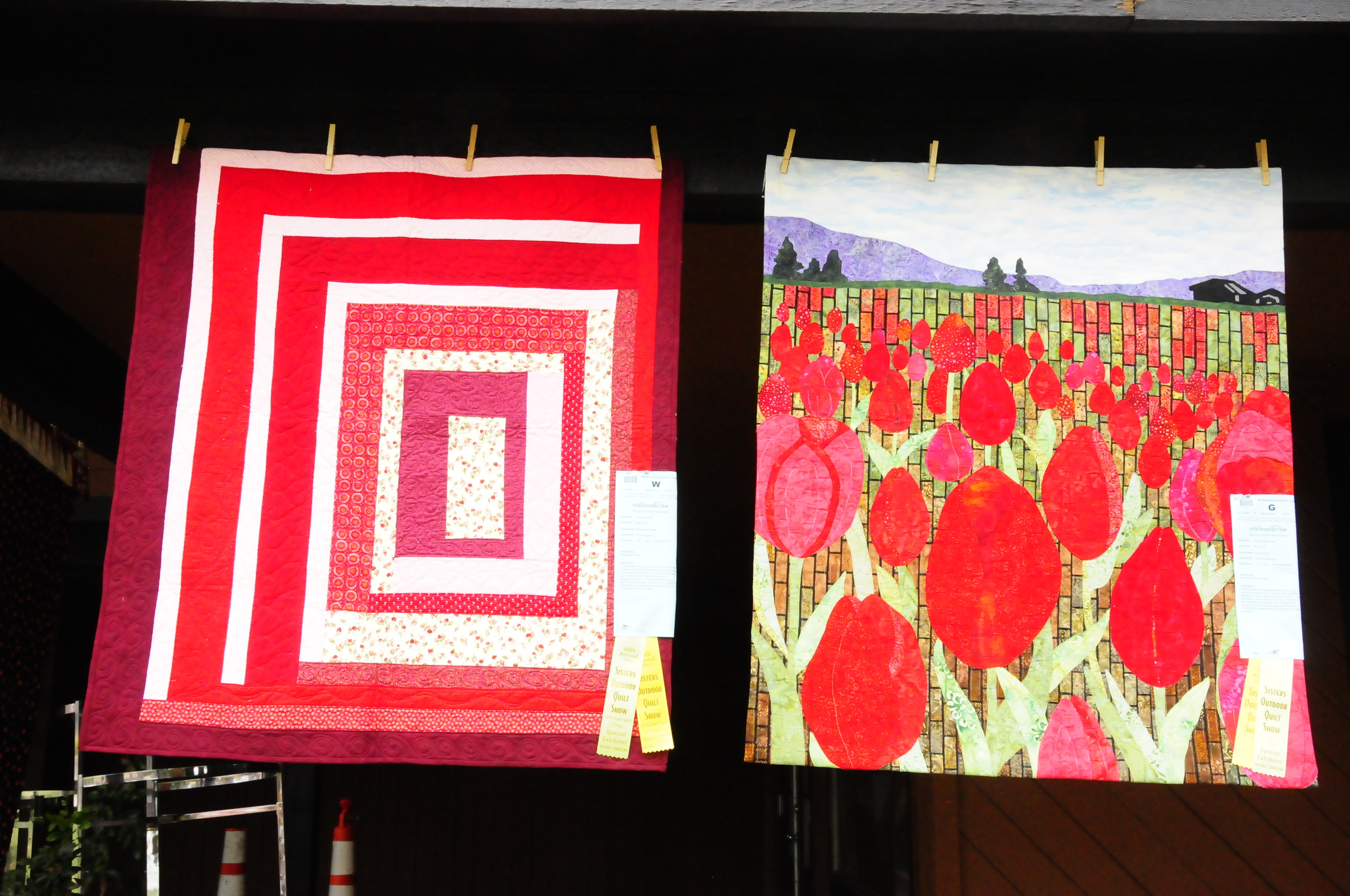 Ruby Red Roses by Rosie Wardell and Ruby Spring by Linda Greenough