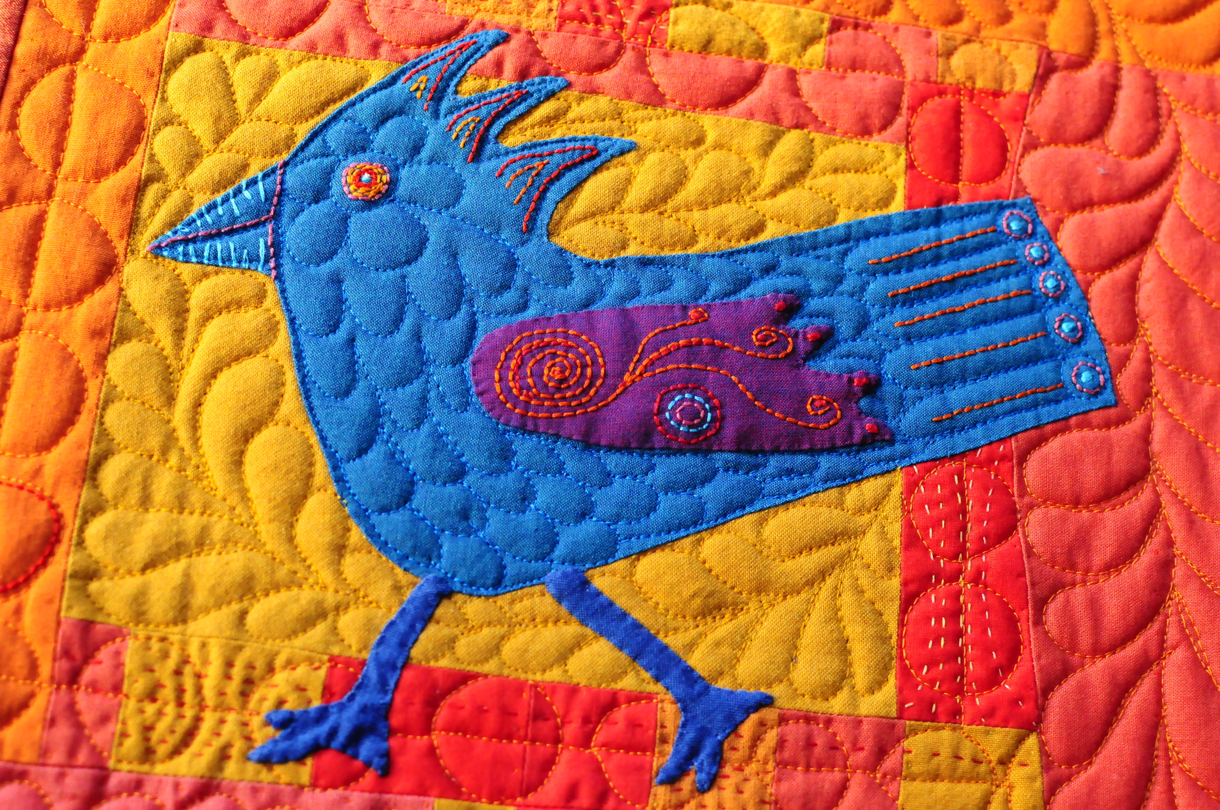 Funky Chicken detail