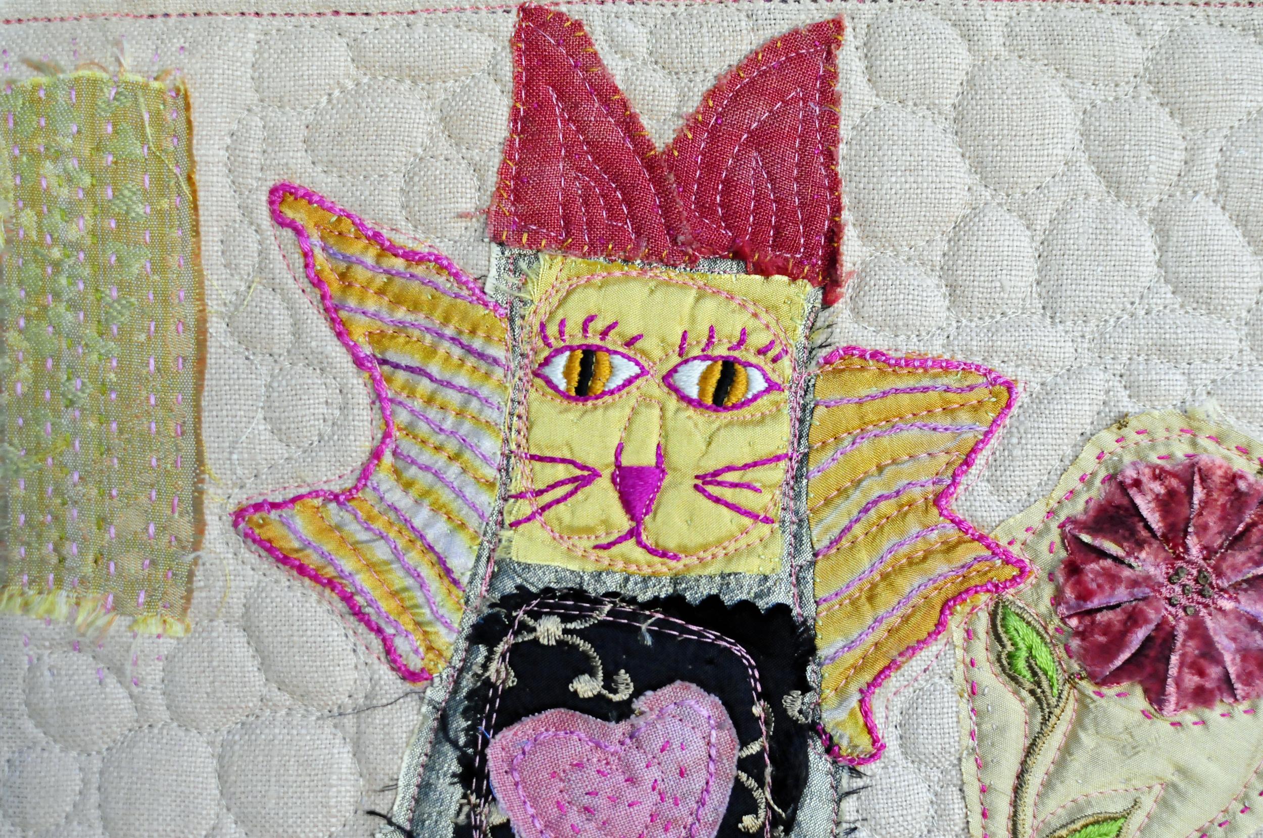 Pink Angel Kitty