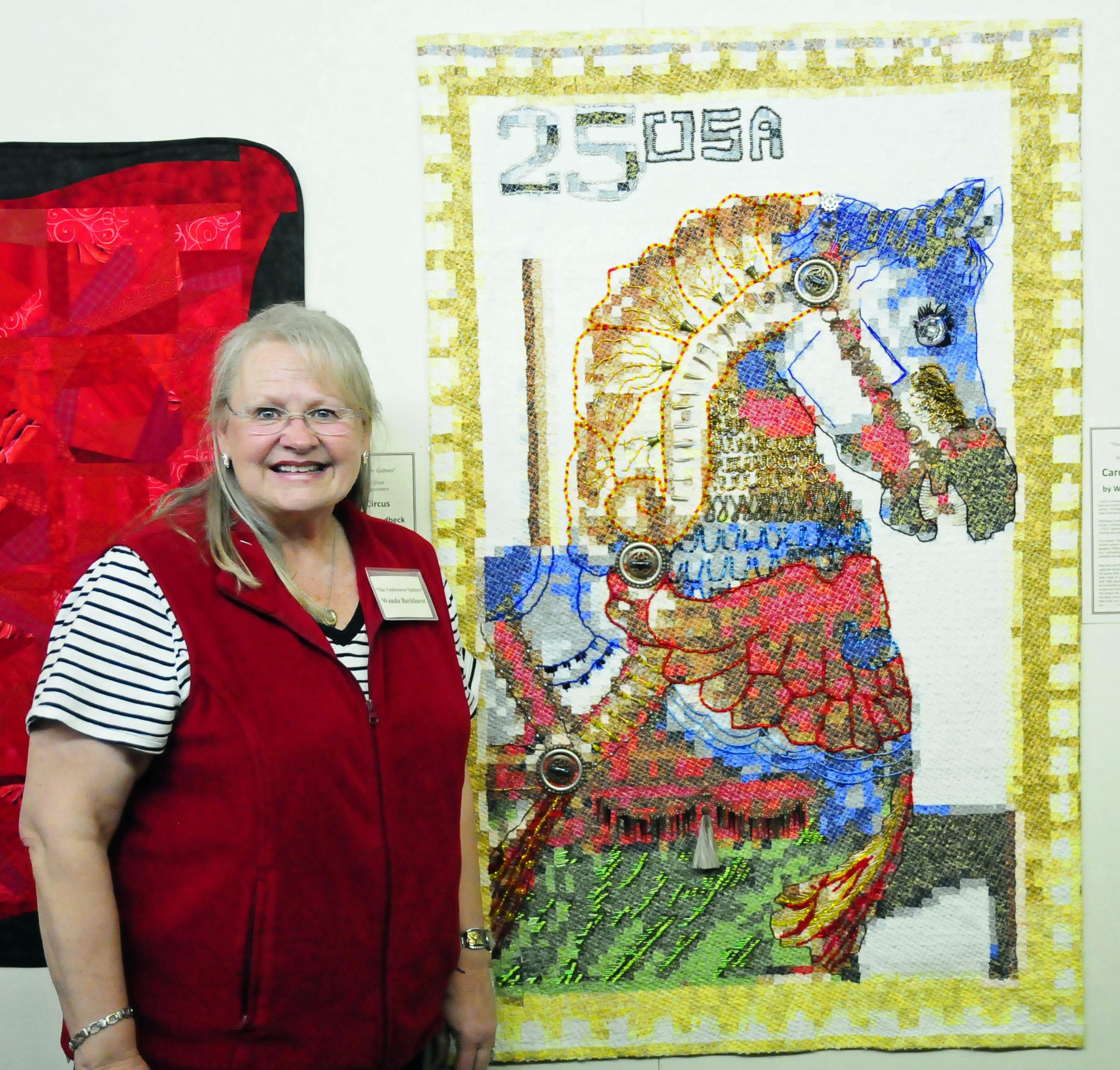 Carousel Horse  by Wanda Barkhurst