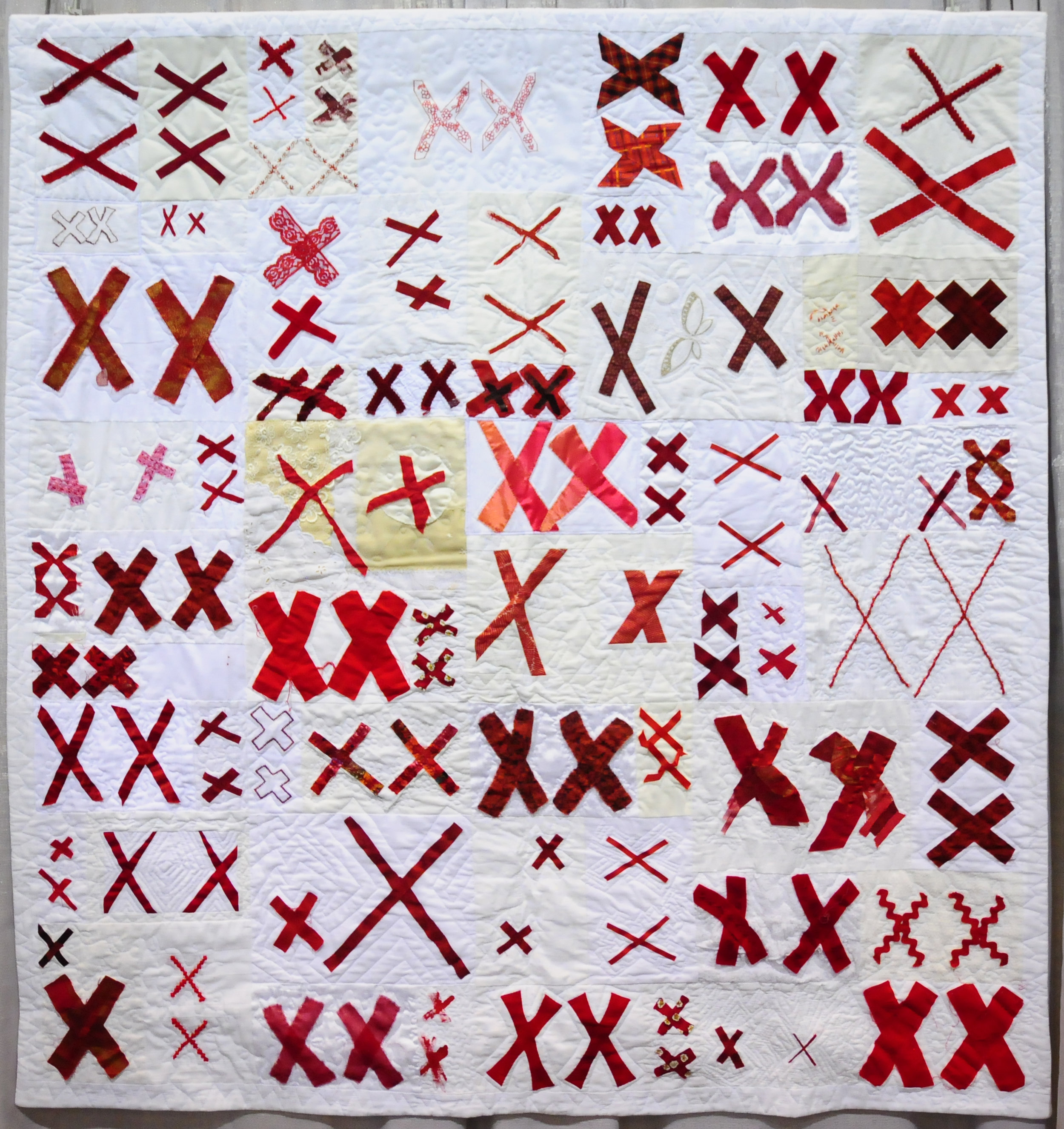 The 70273 Project, Quilt 1 by Jeanne Hewell-Chamber ( @whollyjeanne )