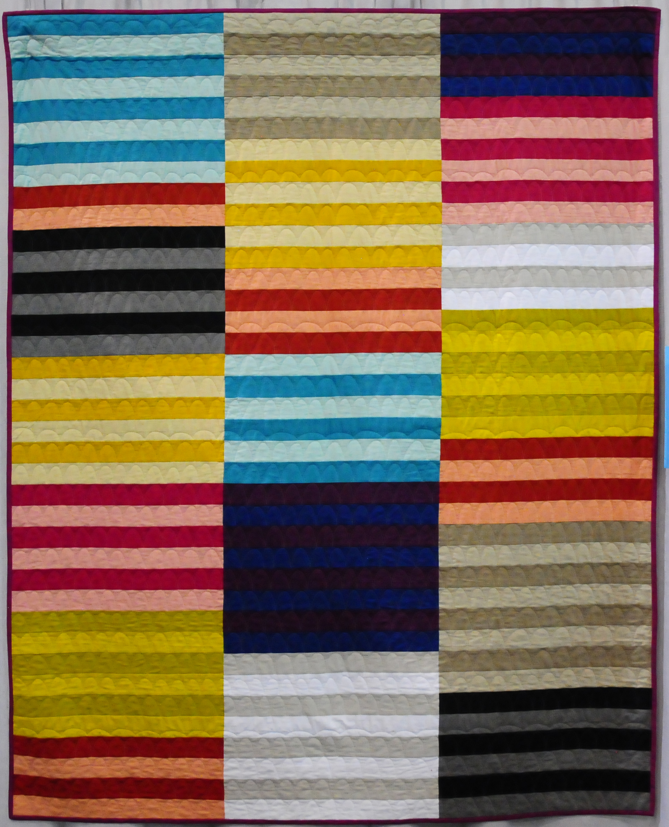 Modern Stripes by Felicity Ronaghan ( @felicityquilts )