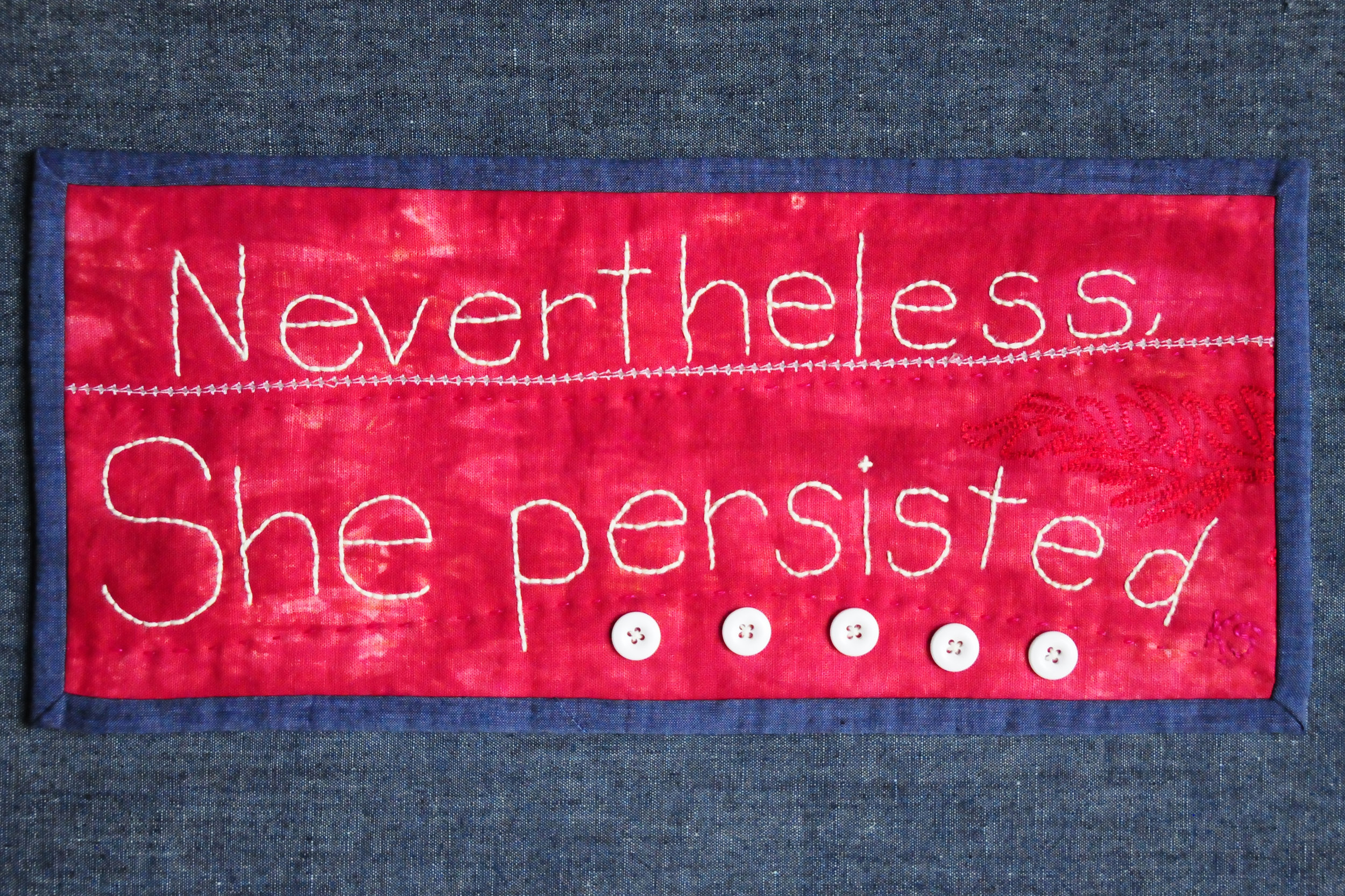 Nevertheless, She persisted, 13x6
