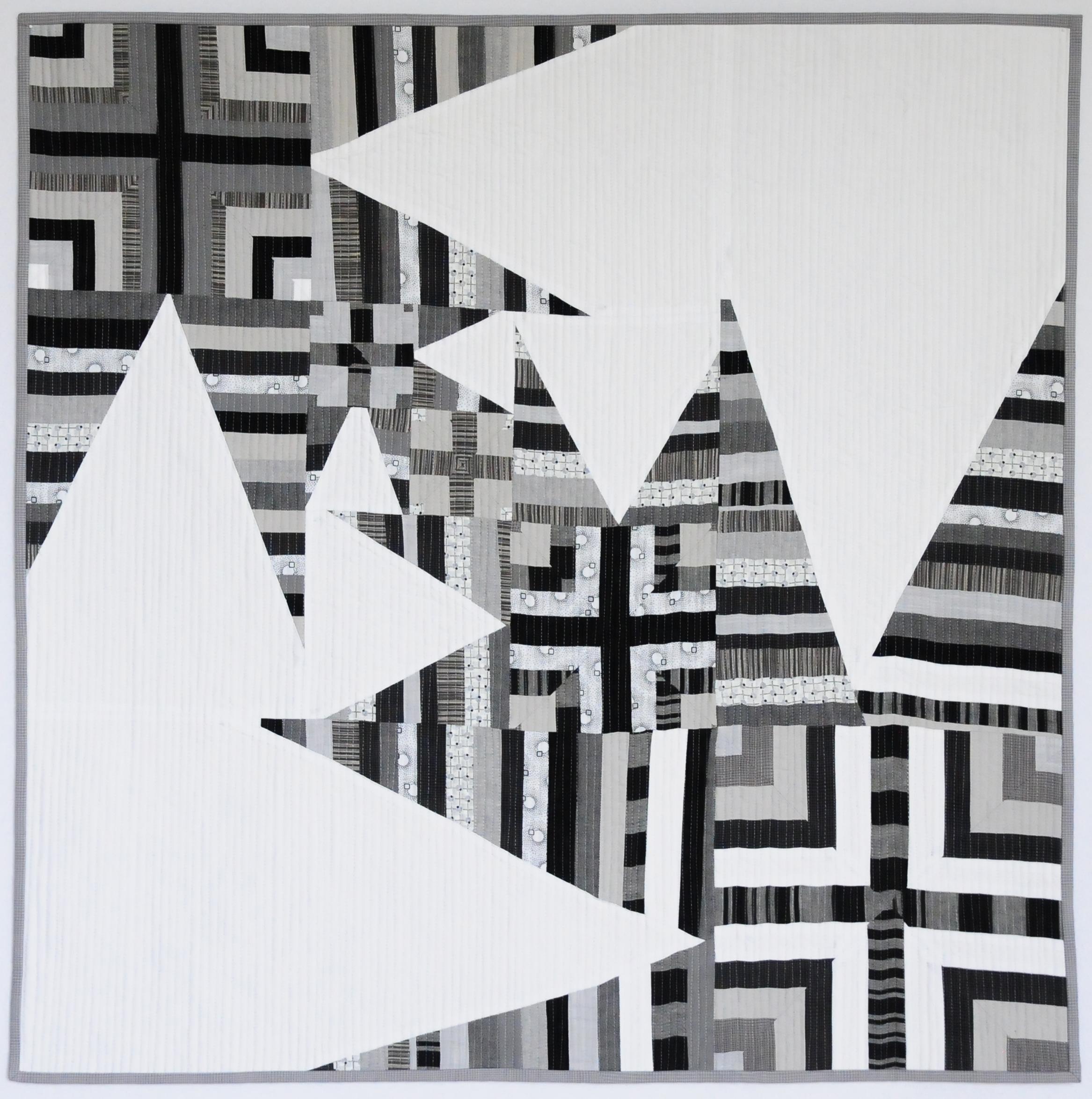 Nested Star-Crossed Strings, 2017, 31x31
