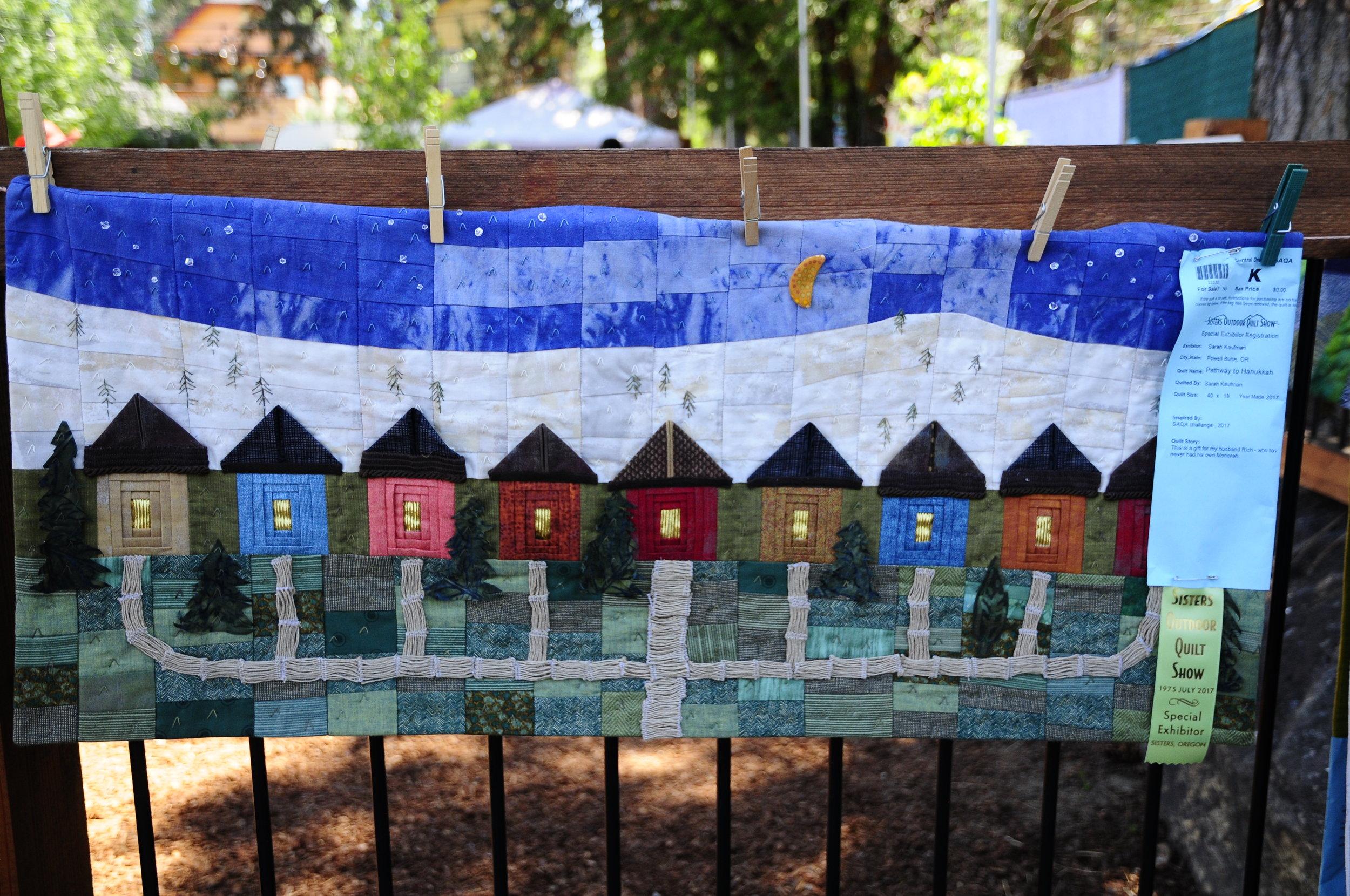 Pathway to Hanukkah by Sarah Kaufman