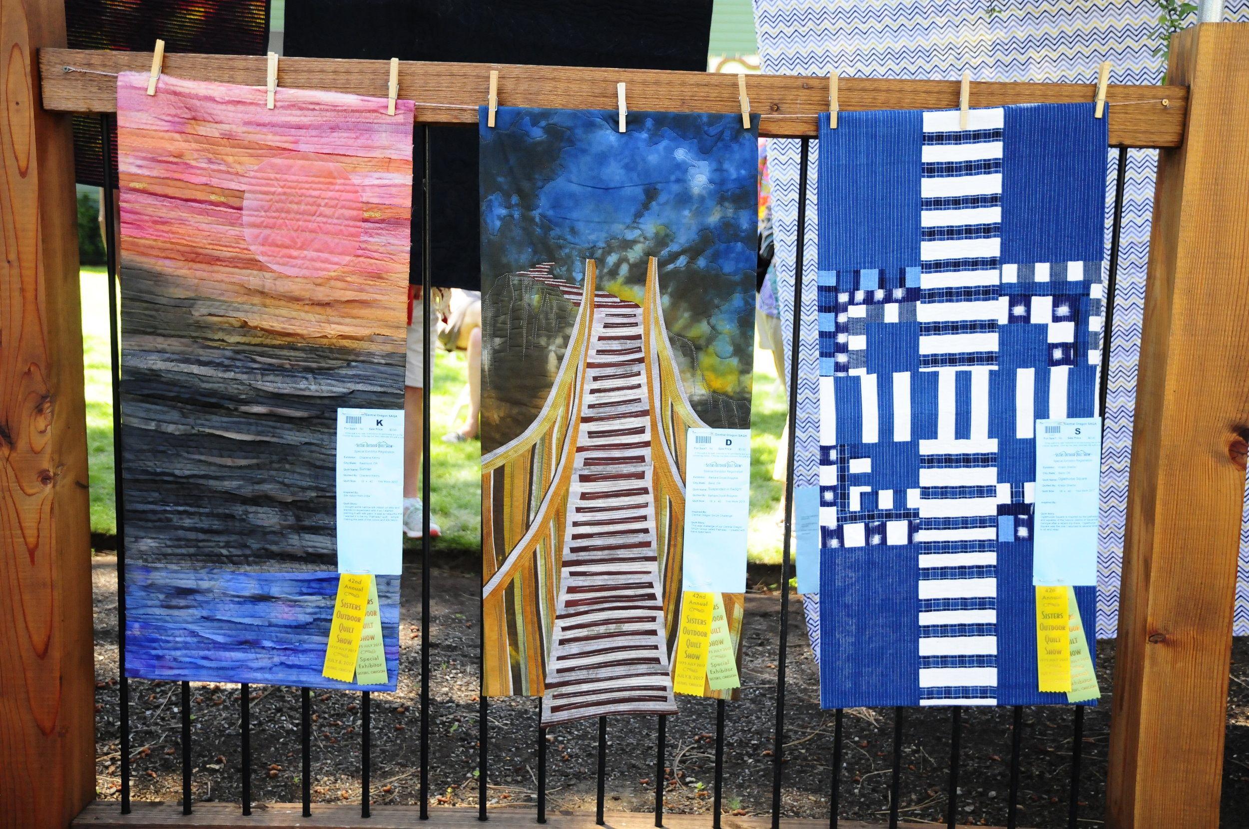 Sunrise by Charlene Kenny Suspended in Twilight by Barbara Doust-Boggess Oglethorpe Square by Kristin Shields