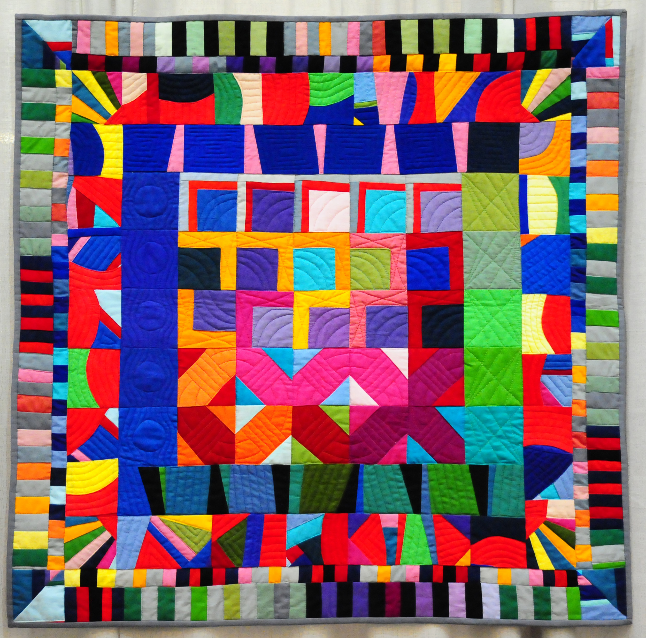 Altered Squares by Cathy Perlmutter (Small Quilts)