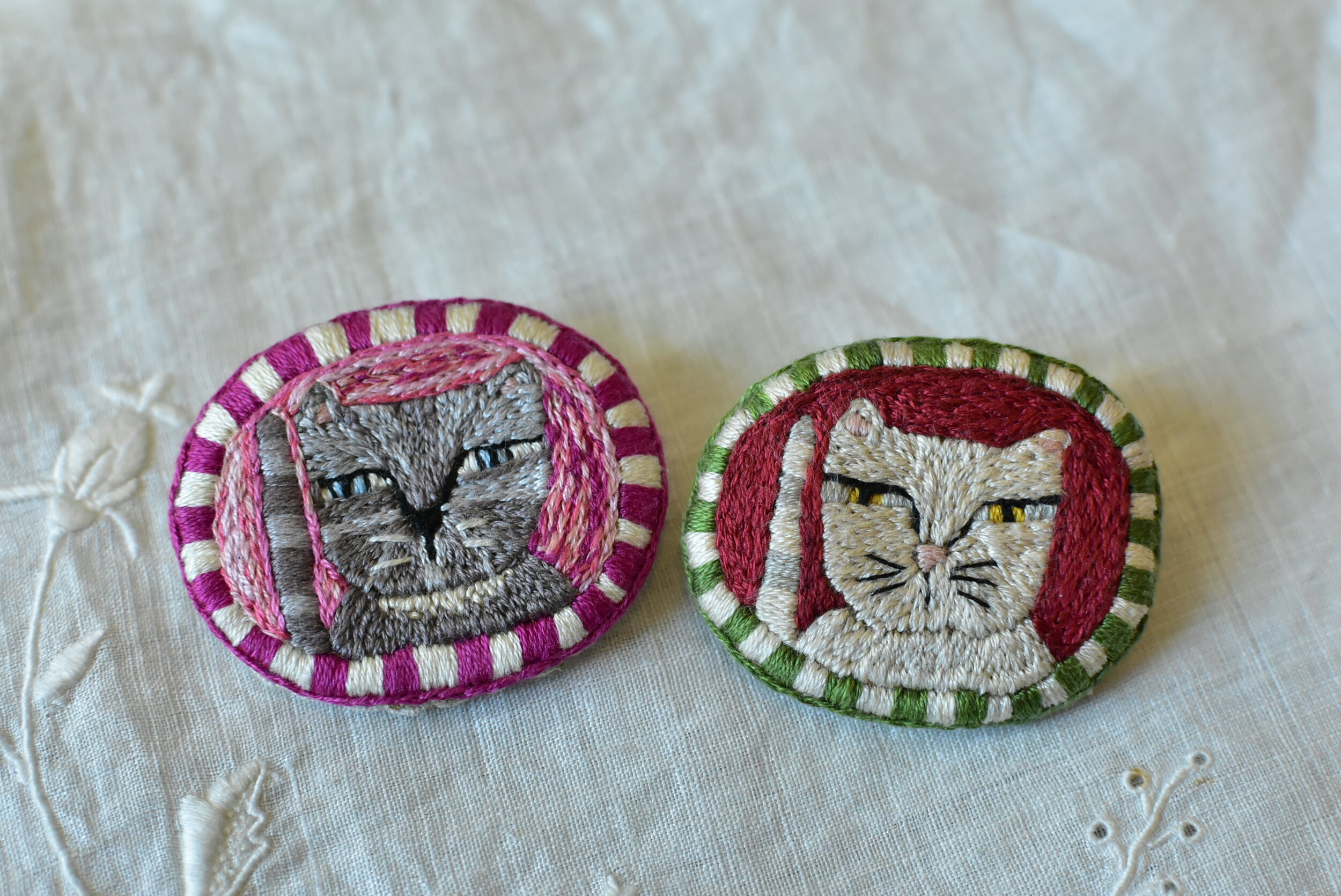 2019 Kitty Brooches for Sale.JPG