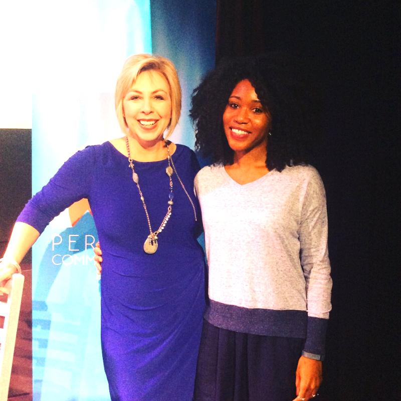 Kim Garst and I at the New York Periscope Community Summit