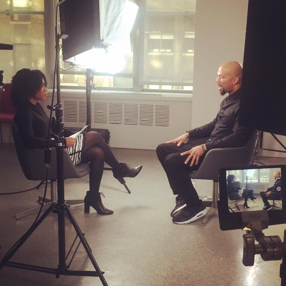 Check me out interviewing Common (Actor, Artist, Philanthropist) on behalf of Black Enterprise