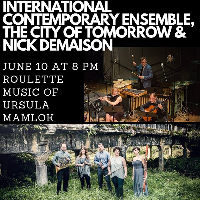 We love the International Contemporary Ensemble, and we are excited to collaborate with them on this show in New York. Link to tickets in bio. #windquintet