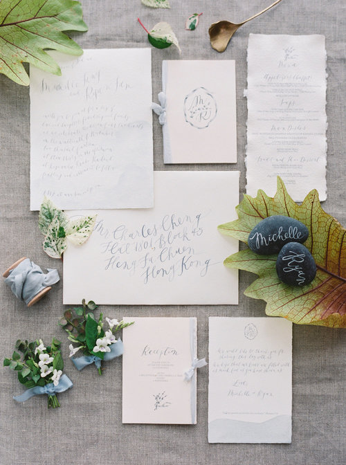 Source:  Linen,  Ribbon ,  Paper ,  Calligraphy ,  Spoon