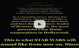 Hans Zimmer Scores Star Wars