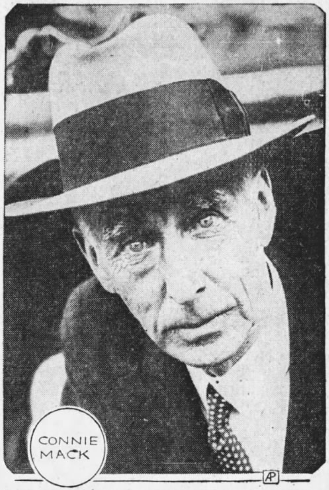 Connie Mack, 1933.