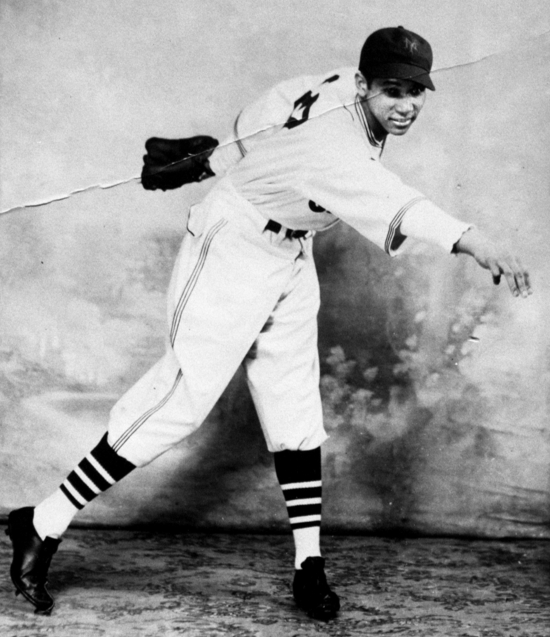 Johnny Taylor in New York Cubans uniform in 1935.