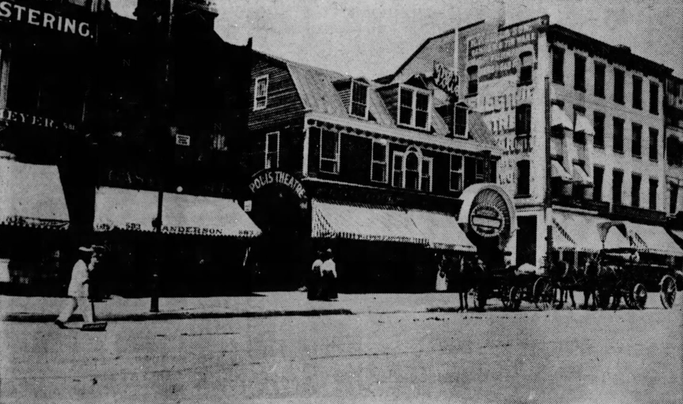 Poli's Theatre first opened on Main Street, Hartford, Connecticut in 1903.