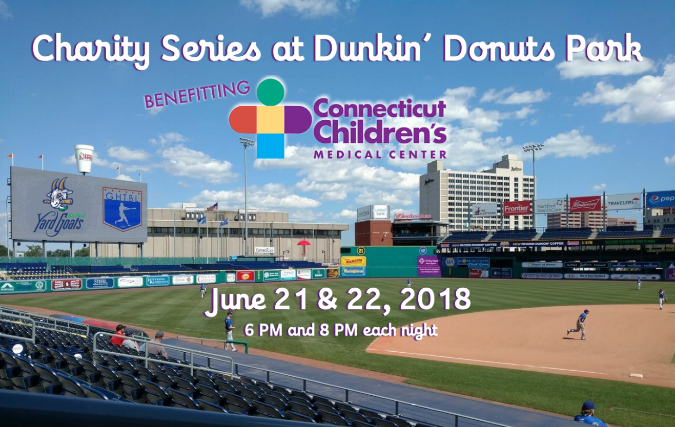 2018 Charity Series at Dunkin' Donuts Park raised $4,500 for Connecticut Children's Medical Center.