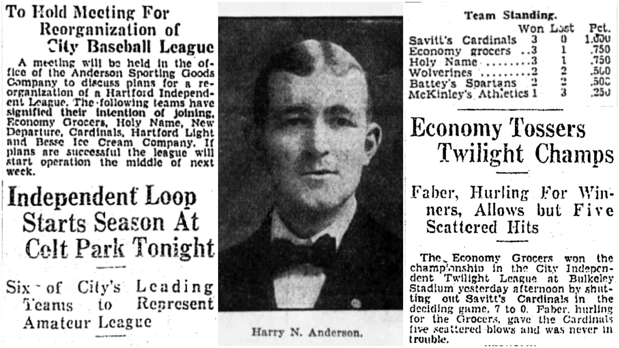 Hartford Courant excerpt, 1929