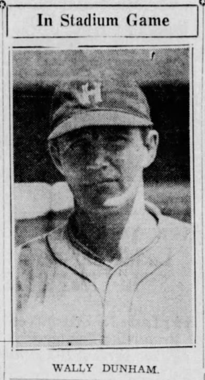 Wally Dunham, 1935.