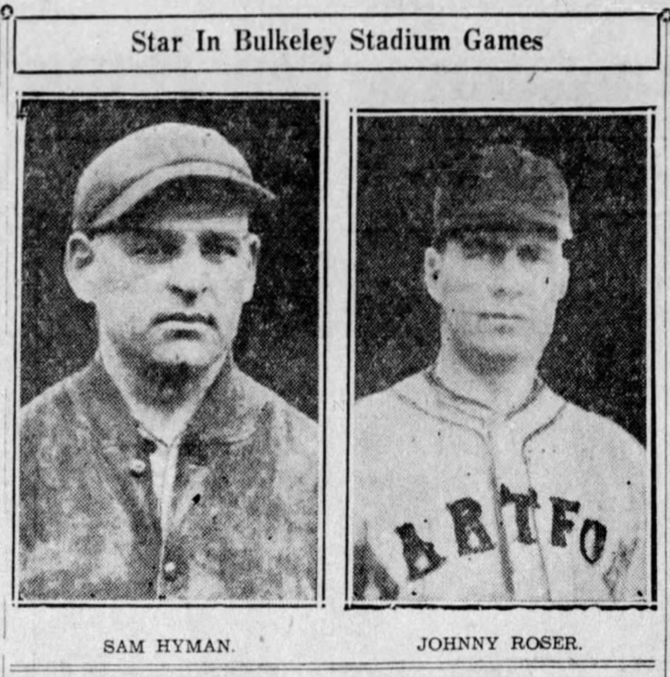 Sam Hyman and Johnny Roser, Savitt Gems,1935.
