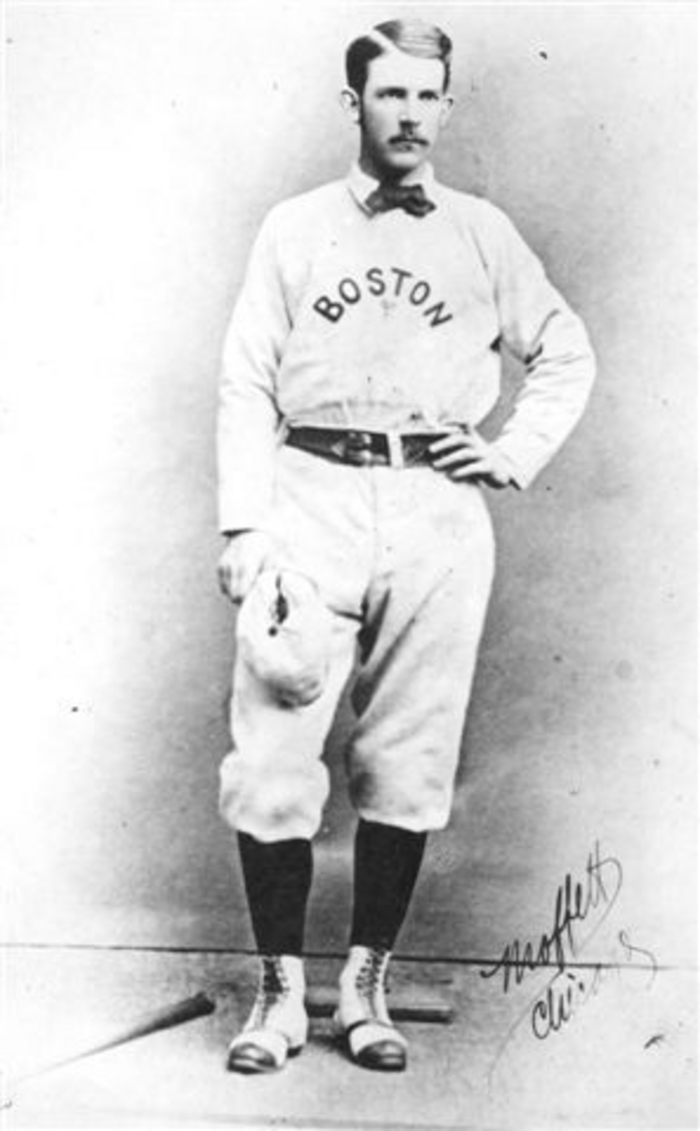 Al Spalding, Pitcher, Boston Red Stockings, 1875.