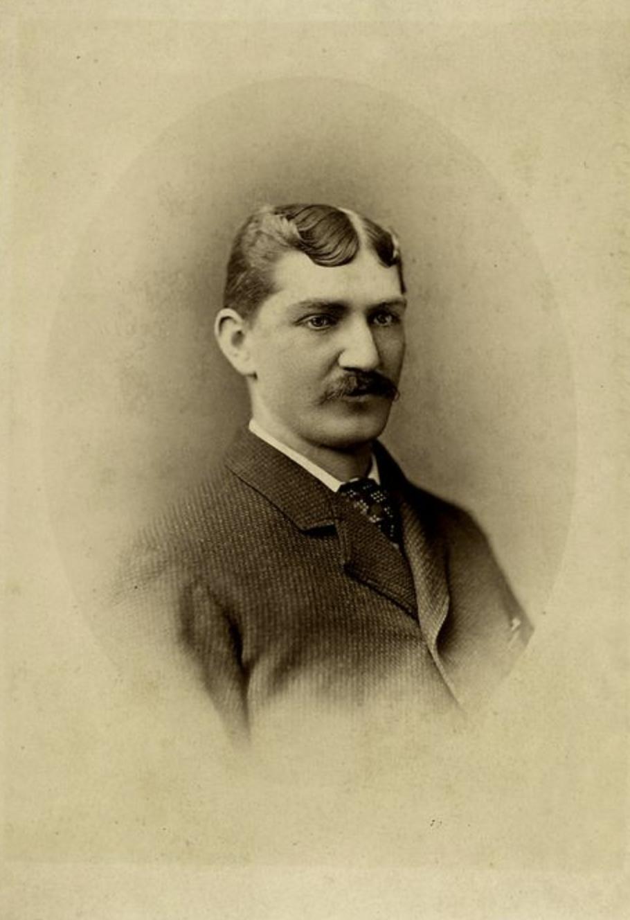 Tommy Bond, Pitcher, Hartford Dark Blues, 1876