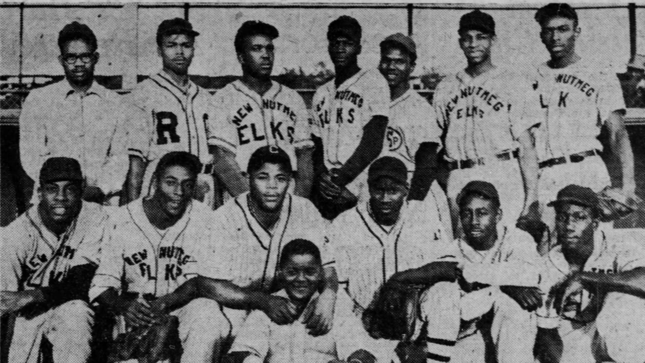 1950 Nutmeg Elks Greater Hartford Twilight Baseball League Champions
