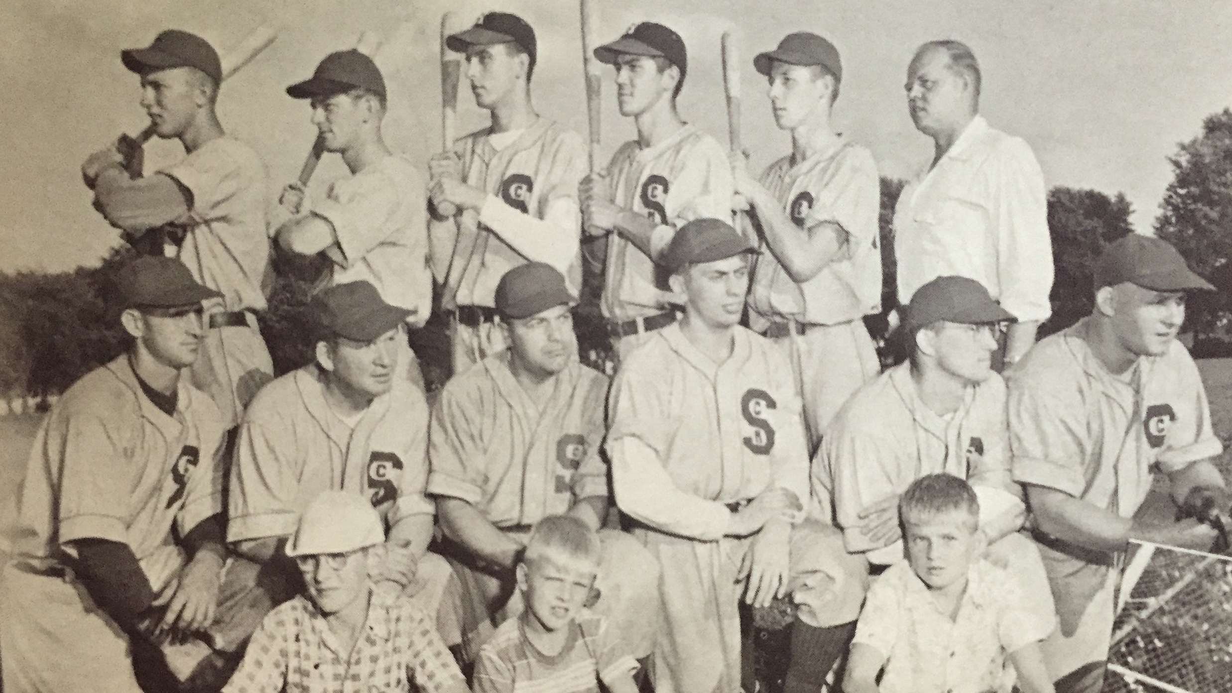 1951 St. Cyril's baseball club at Colt Park.