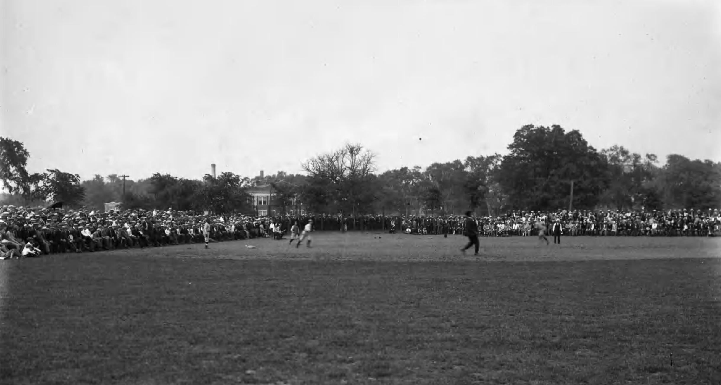 Baseball at Colt Park, 1926