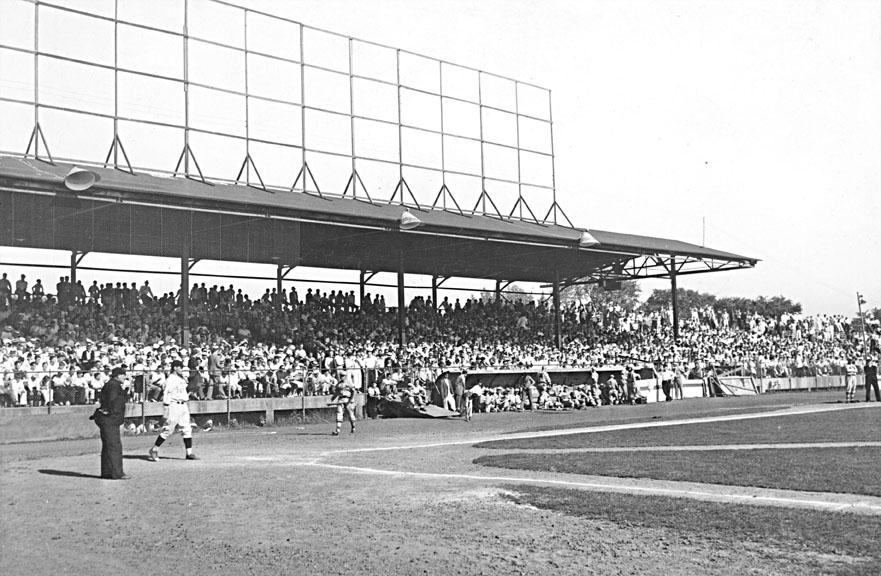 Bulkeley Stadium, Hartford, Connecticut, 1936.